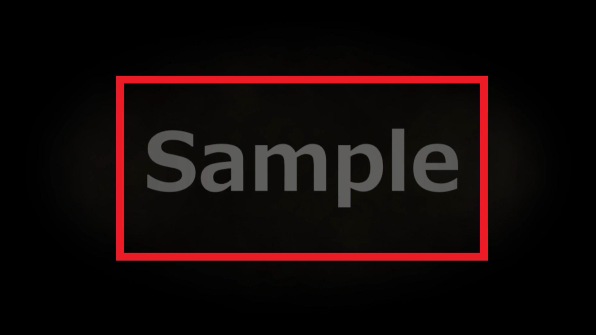 テキスト版のサンプル